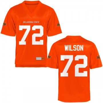 Men's Johnny Wilson Oklahoma State Cowboys Limited Orange Football Jersey -