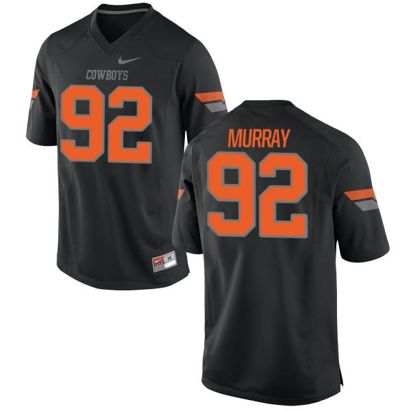 Women's Cameron Murray Oklahoma State Cowboys Nike Replica Black Football Jersey -