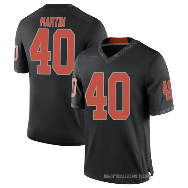Youth Brock Martin Oklahoma State Cowboys Nike Replica Black Football College Jersey